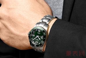 浪琴手表二手能卖多少钱 款式和新旧决定价格