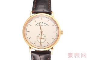 二手朗格手表回收一般是多少钱 看完新旧再说话