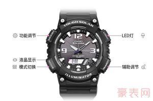 4键电子手表怎么调时间的方法