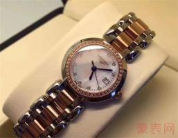 浪琴心月手表可以回收多少钱
