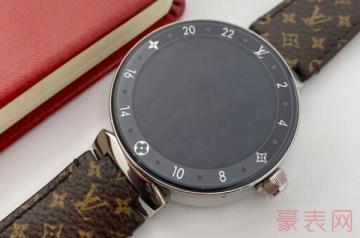 男士的lv二手手表回收一般几折