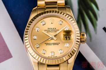 真金真钻的手表可以回收吗