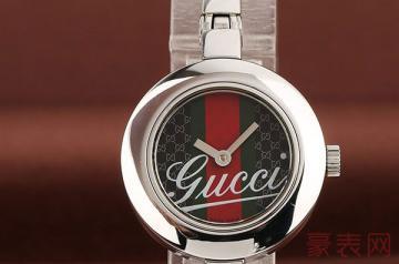 全新的gucci手表回收一般是原价的几折