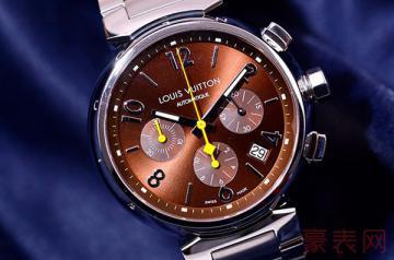 表盘有点划痕的lv手表回收卖多少钱