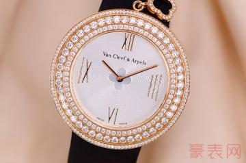 一般回收二手梵克雅宝手表有多少钱
