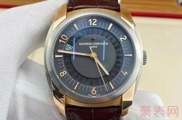 入门级的二手江诗丹顿手表回收多少钱