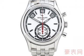 复杂功能的百达翡丽5960手表回收价格如何