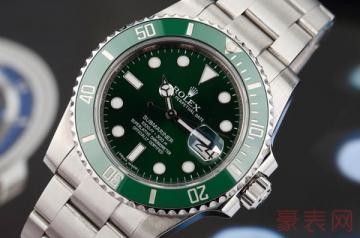 高价回收手表一般保持在几折左右