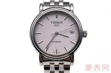 天梭手表去当铺回收卖多少钱呢