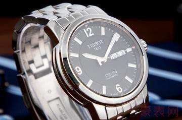 哪里回收旧天梭手表省心又省力