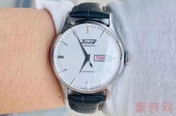 五千五的天梭手表回收能卖多少钱