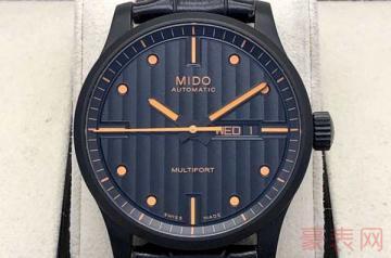 最新款的美度手表回收能到原价的几折