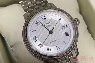 卖旧的天梭手表回收能卖多少钱