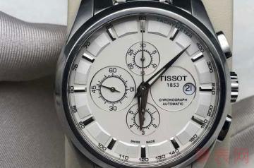 来这回收天梭t035210a手表轻松价还高