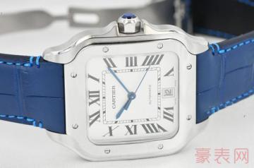 简约的卡地亚二手手表回收多少钱