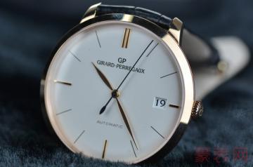 芝柏手表回收价目表对比哪款更值钱