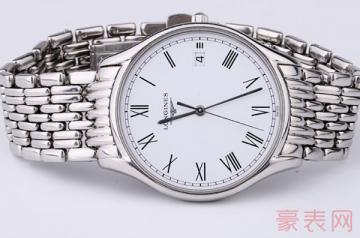 用了4年的浪琴律雅手表回收能卖多钱
