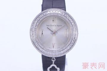 搁置了一段时间的梵克雅宝手表专柜回收吗