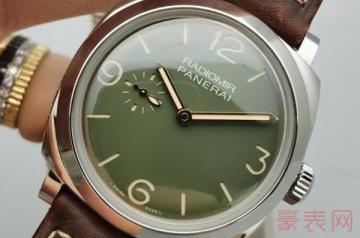 沛纳海手表回收的价格都参照哪些因素