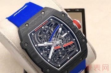 二手的理查德米勒手表回收能卖多少钱