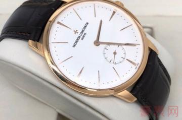 老款有磨损的江诗丹顿手表能回收吗