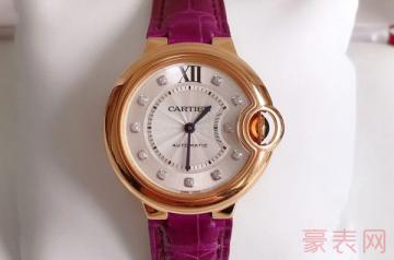 几年前买的卡地亚手表能回收多少钱