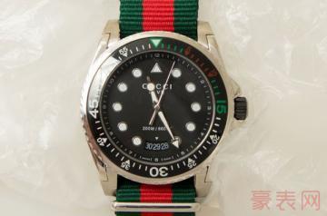 定位时尚的古驰男士手表回收行情如何