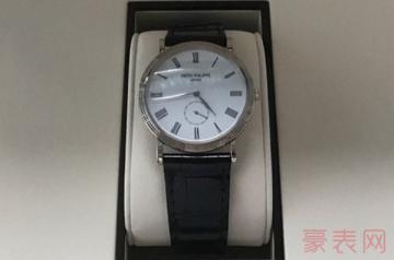 回收二手百达翡丽手表价格高到想不到?