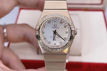 欧米茄间金星座手表回收没有附件行吗