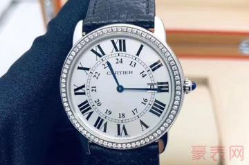 95新卡地亚伦敦手表一般回收多少钱