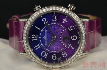 小白想安全回收积家手表哪家好呢