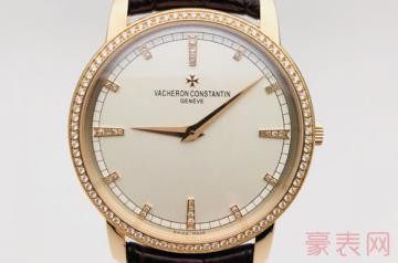 十三万的江诗丹顿手表回收能卖多少钱
