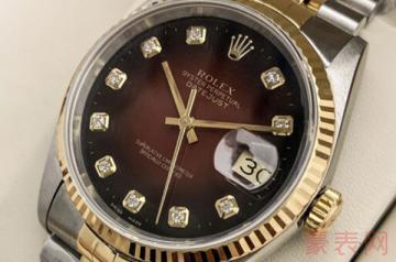2005年买来的劳力士手表能卖多少钱