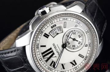 卡地亚wf100003手表回收能卖多少