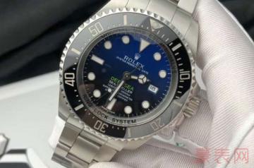10年前的劳力士鬼王手表回收可以卖多少钱
