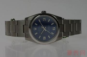 劳力士老式手表回收价格仍然一骑绝尘?
