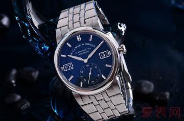 机芯雕花精致的朗格手表回收几折