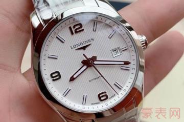 浪琴8000多的手表二手回收能卖多少钱