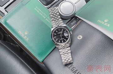 劳力士白金手表回收有没有机会超公价