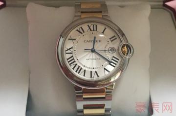 用过的卡地亚手表回收什么价格