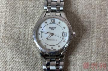 4000左右买来的天梭手表回收可以卖多少