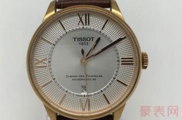 天梭6000的手表回收价格是多少