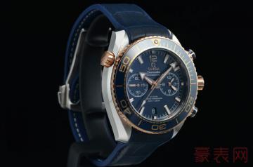 二手欧米茄海马600m手表回收价值几何