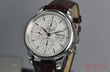 天梭手表回收多少钱受哪些影响