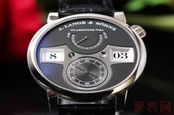 回收朗格手表价格居然不低