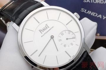 顶尖的伯爵二手手表回收什么价格