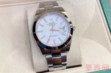 劳力士126300手表回收能卖多少钱