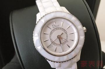九成新的dior手表回收值多少钱