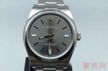 劳力士114300手表用半年回收能卖多少钱