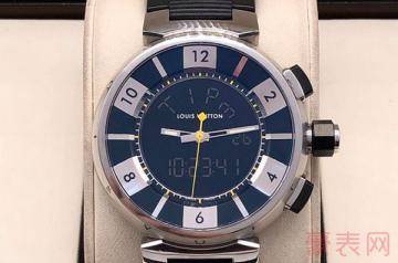 高颜值的lv手表回收一般几折